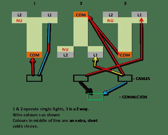 2 Gang Schematic Wiring   Wiring Diagram  Gang Way Switch Wiring Diagram on 2 gang three way switch, two lights two switches diagram, one way switch diagram, 2-way switch diagram, 2 gang switch cover, 2 switches 2 lights 1 power source diagram, light switch diagram, 2 gang receptacle wiring-diagram,