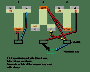 Wiring 3 gang, 2 way light switch | DIYnot Forums