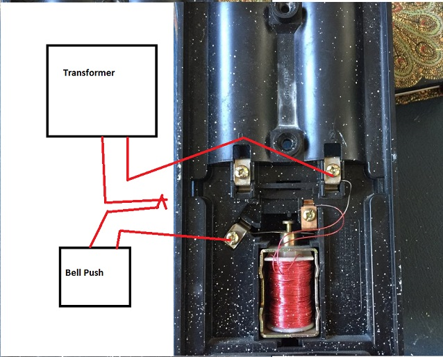 Wiring Diagram Friedland Doorbell