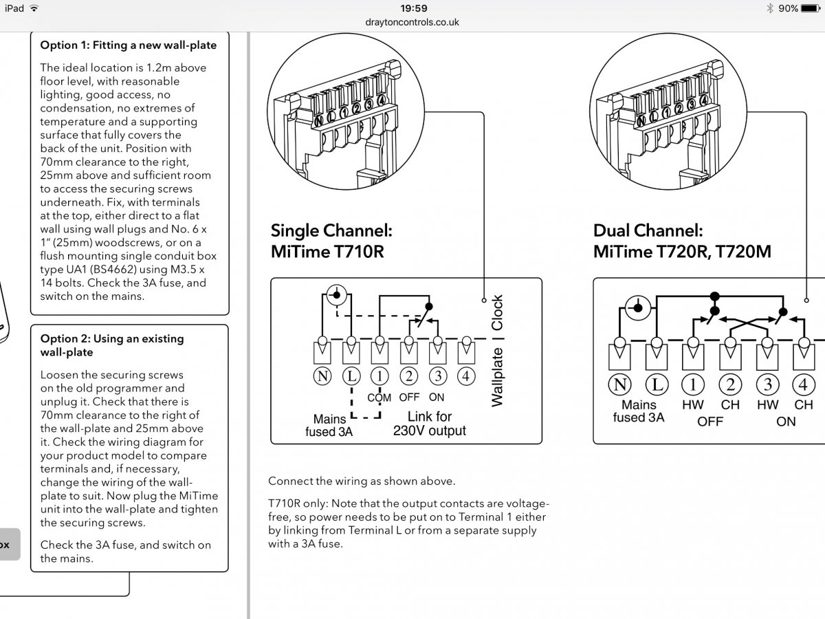 drayton wireless room stat wiring diagram 8n ford tractor 6 volt changing ch thermostat diynot forums