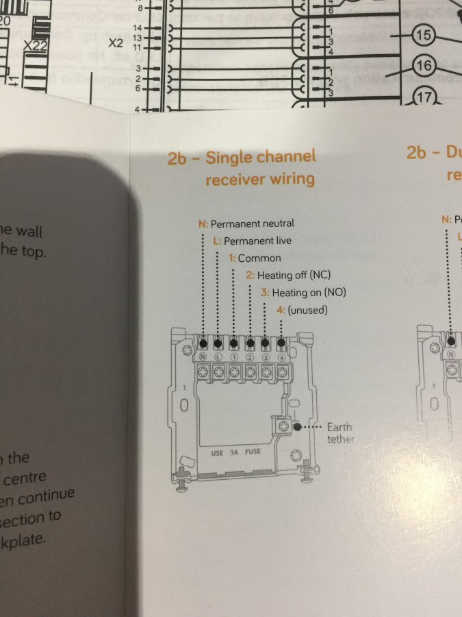 How to install a Hive Thermostat to a Vaillant 938 Combi