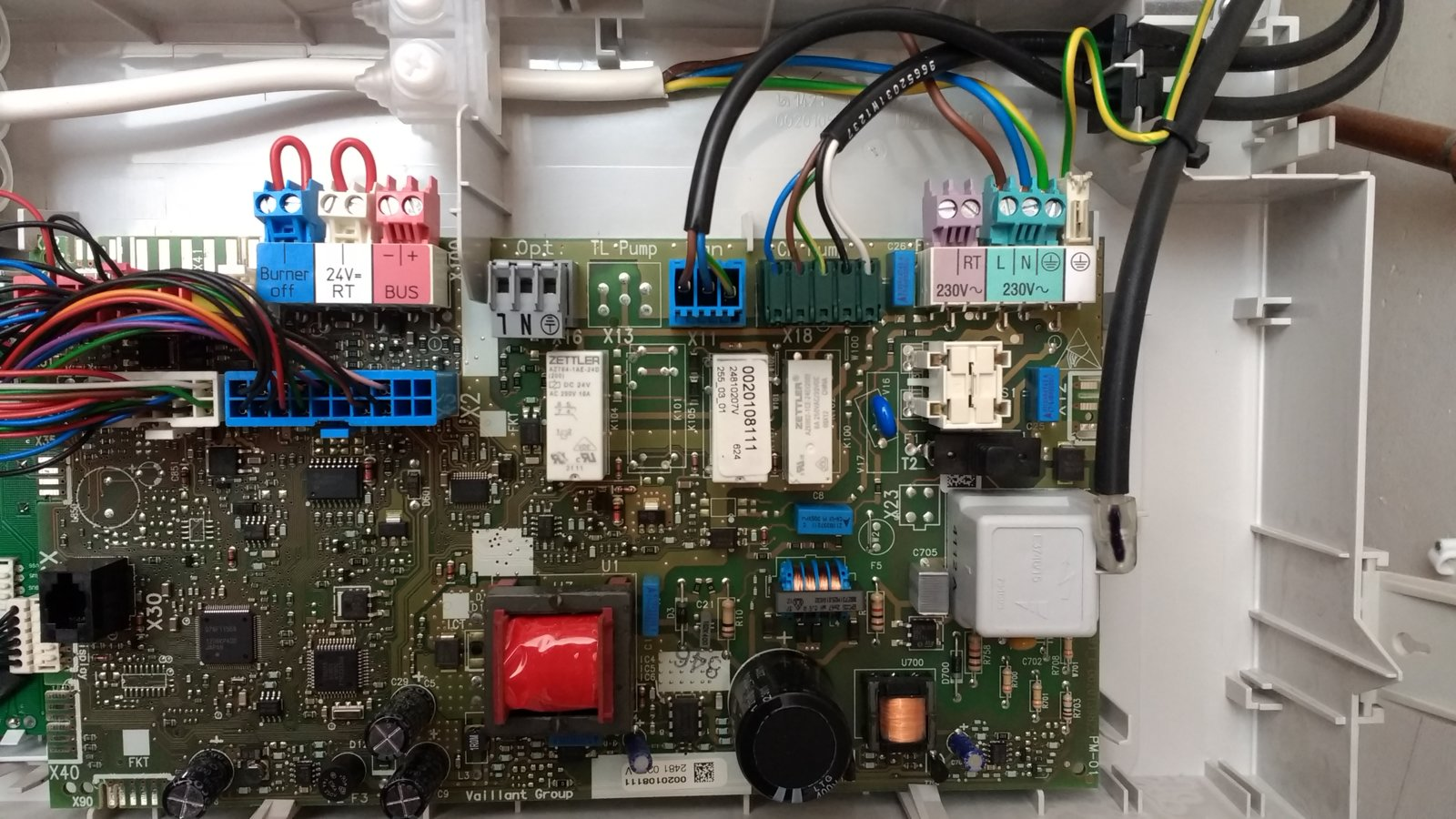 Wiring Diagram Vaillant Ecotec Plus
