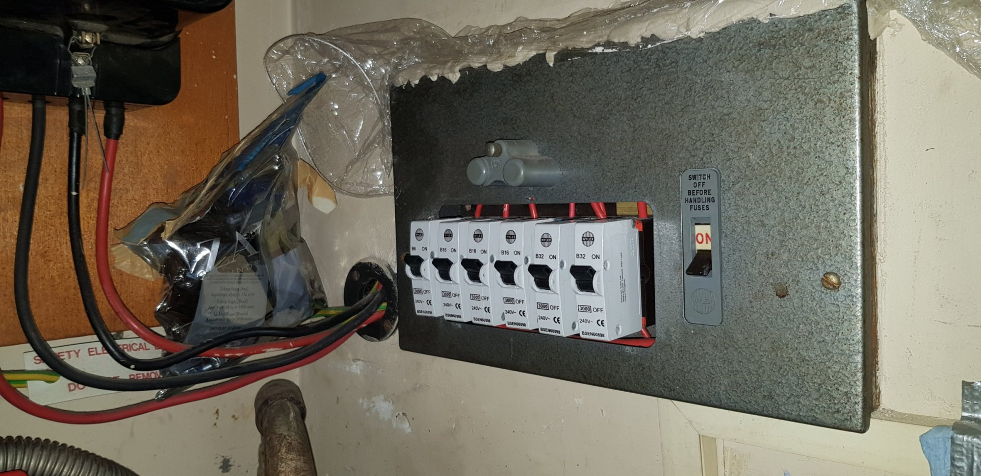 hight resolution of consumer unit replacement diynot forums replacing old fuse box with consumer unit