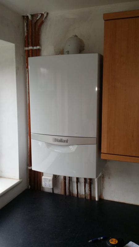 kitchen cost metal base cabinets repositioning a combi-boiler by few inches   diynot forums