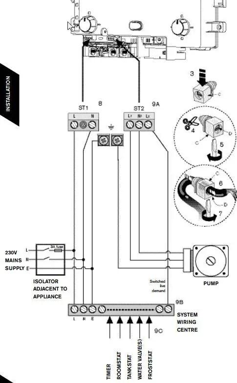 worcester bosch 24i system boiler wiring diagram plant cell only schematics greenstar 34 home