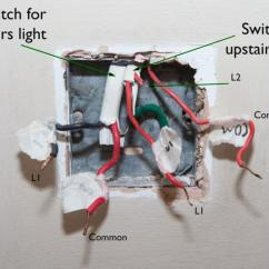 3 Gang Switch Wiring Diagram Uk 4 Wire Trailer Plug Downstairs Light | Diynot Forums