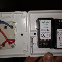 2 Gang Way Light Switch Wiring Diagram 4 Wire Z Wave Thermostat Help Replacing Double For Dimmer | Diynot Forums