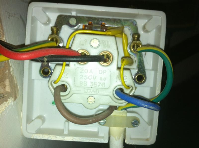 Wiring An Immersion Heater