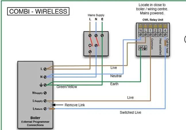 24v Transformer Wiring Diagram New Boiler Relay Hive Home Diynot Forums