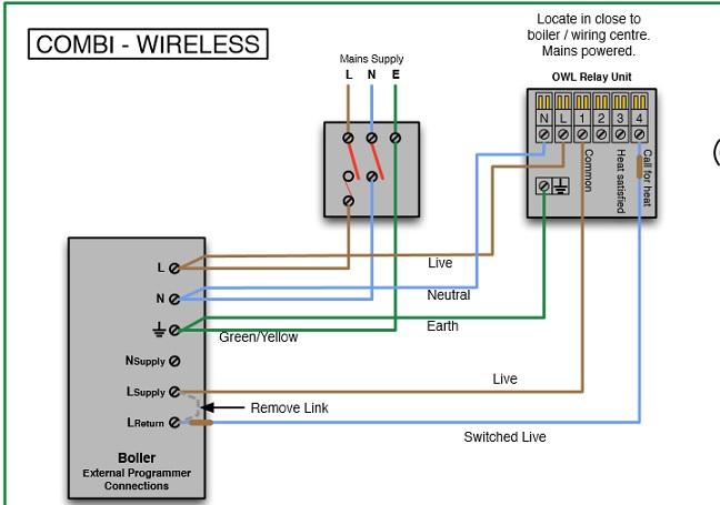 Owl Wiring Diagram | DIYnot Forums