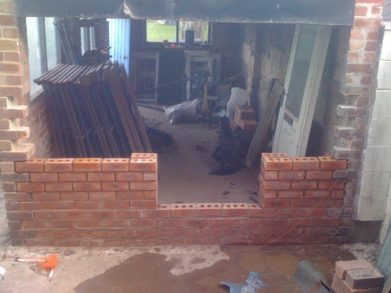 Toothing in to existing building  DIYnot Forums