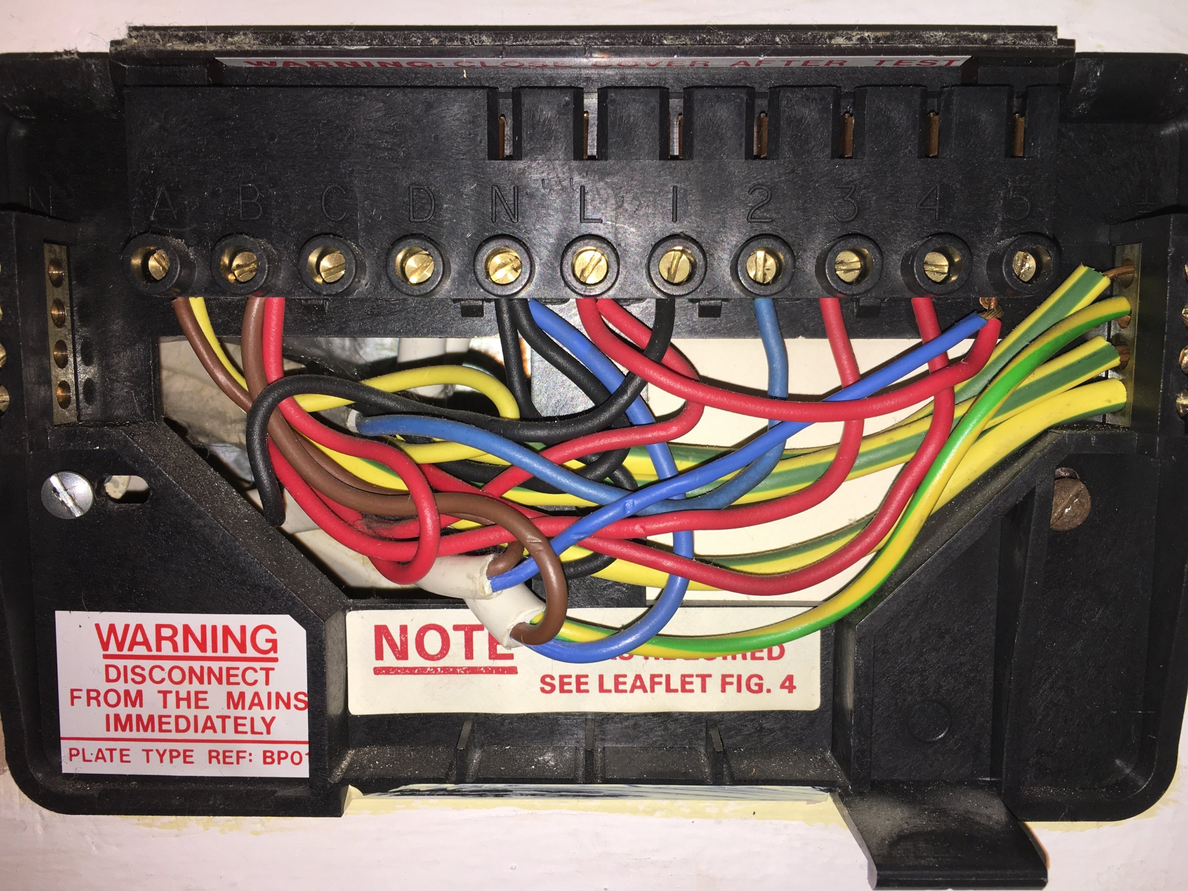 Junction Box Wiring Diagram Nest 3rd Gen To Replace Potterton Ep2002 Please Check My