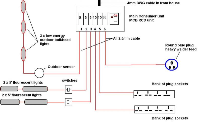 House Wiring Circuit Diagram Uk On House Images Free Download