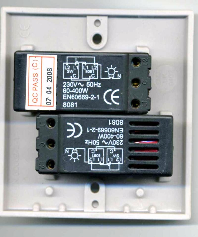 Wiring A Double Dimmer Switch DIYnot Forums