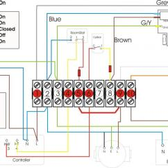How To Wire A Honeywell Thermostat Diagram 5 Pillar Template Powerpoint Baxi Boiler Overheating!? | Diynot Forums