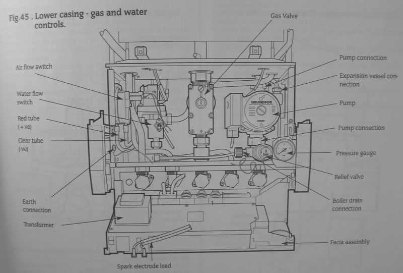 Image Showing Wiring Diagram Of A Loop At The Repressurissing Worcester 25si Combi Diynot Forums