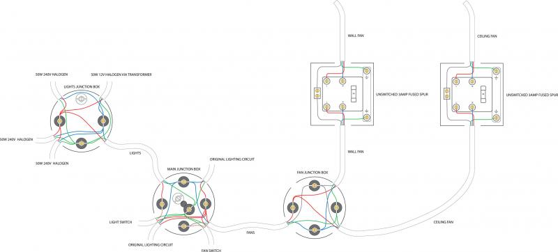 Double Pole Fused Spur Wiring Diagram Double Electrical
