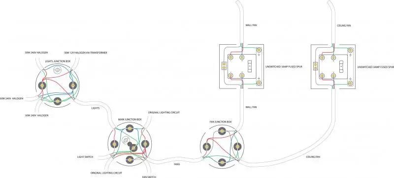240v to 12v transformer wiring diagram 97 honda civic dx fuse box fusing an extractor fan | diynot forums