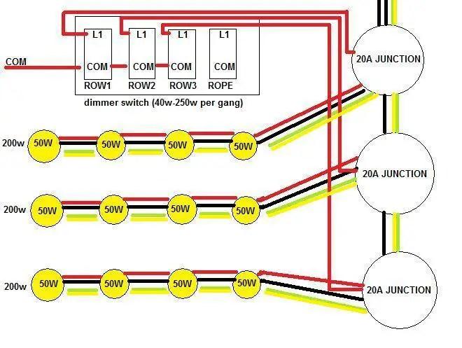 Wiring Diagram Kitchen Downlights | Bathroom Spotlight Wiring Diagram |  | Wiring Diagram