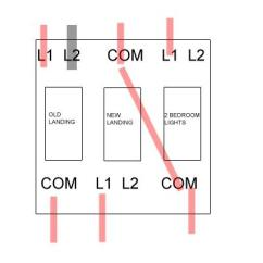Light Wiring Diagram 2 Way Switch Carrier Air Conditioning Unit 3 Gang -wish To Change Target | Diynot Forums