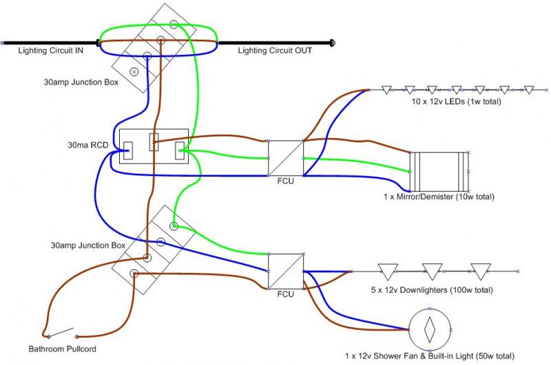Ceiling Fan Wiring Diagram Schematic Diagram Review For Bathroom Re Install Diynot Forums