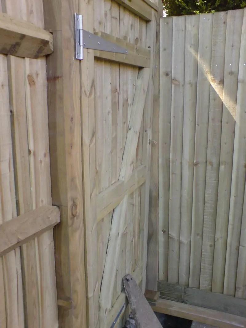 Hanging a wooden gate warped  DIYnot Forums