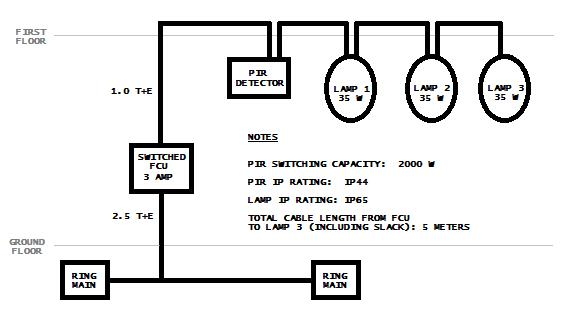 how to wire 240v downlights diagram
