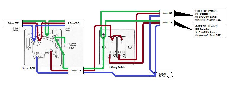 single gang two way light switch wiring diagram 2004 ford explorer one fcu, 2-gang for sets of lamps | diynot forums