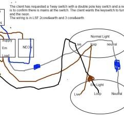 Key Switch Wiring Diagram Lighting 1993 Mazda B2600 Radio Emergency | Diynot Forums