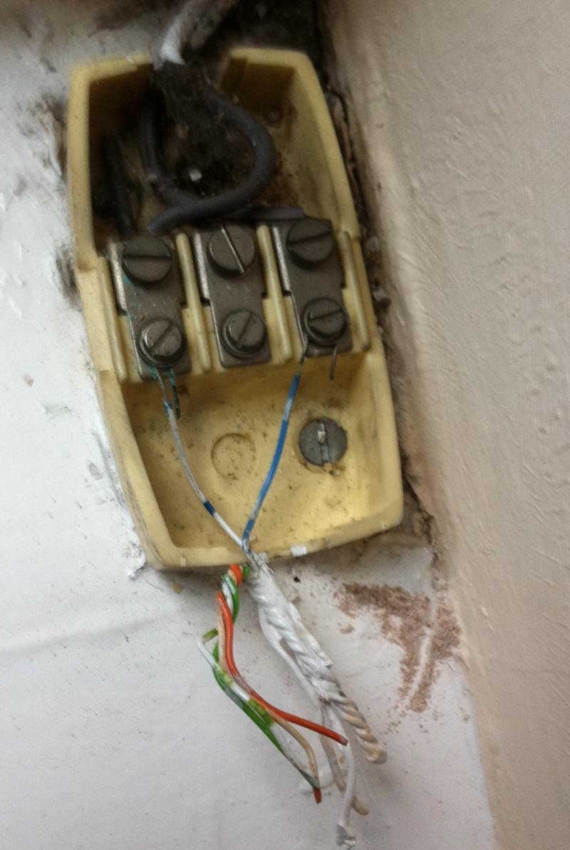 hight resolution of fitting a bt master socket to a junction box diynot forums bt external junction box wiring