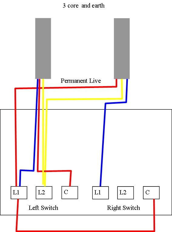 3 gang dimmer switch wiring diagram uk electrical software free download a two and one light for 2 lights - help! | diynot forums