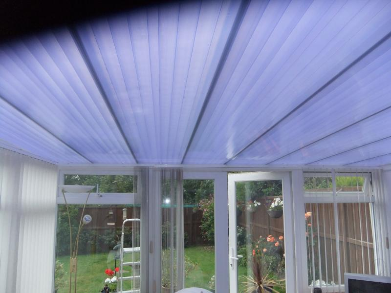 Polycarbonate Roof covering  Leanto conservatory  DIYnot Forums