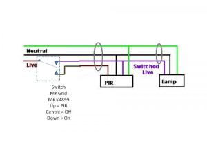 Internal light switch with 3 settings? | DIYnot Forums