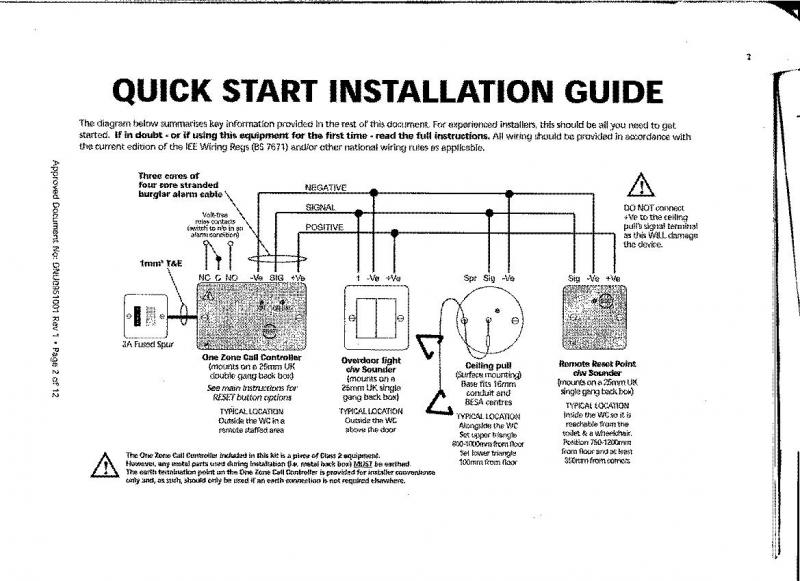 Disabled Toilet Alarm Wiring Diagram : 36 Wiring Diagram