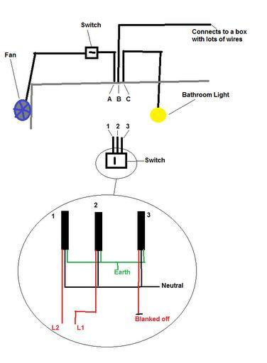 wiring extractor fan and light diynot forums