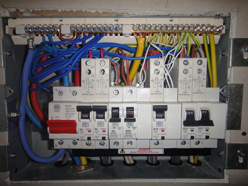 Home Automation Wiring Diagram How Does My Diy Effort At A Consumer Unit Look Diynot