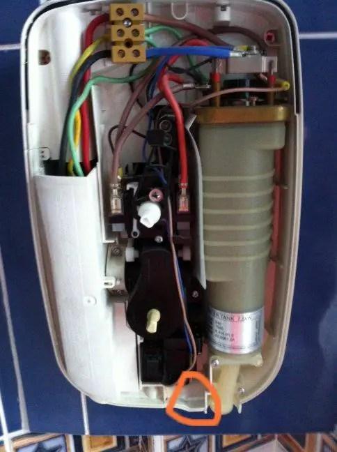 Valve Wiring Diagram Leaking Shower Unit Mira Sport Diynot Forums