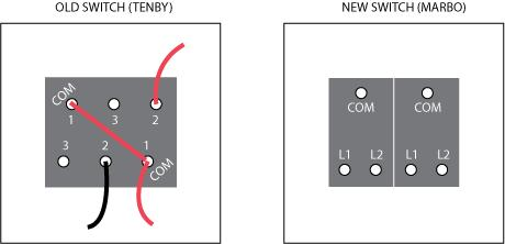 2 gang way light switch wiring diagram 3 5 mm to xlr double | diynot forums