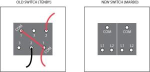 Double light switch wiring diagram | DIYnot Forums