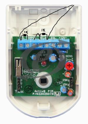 Honeywell Galaxy G212 wiring pirs contacts! ?   DIYnot