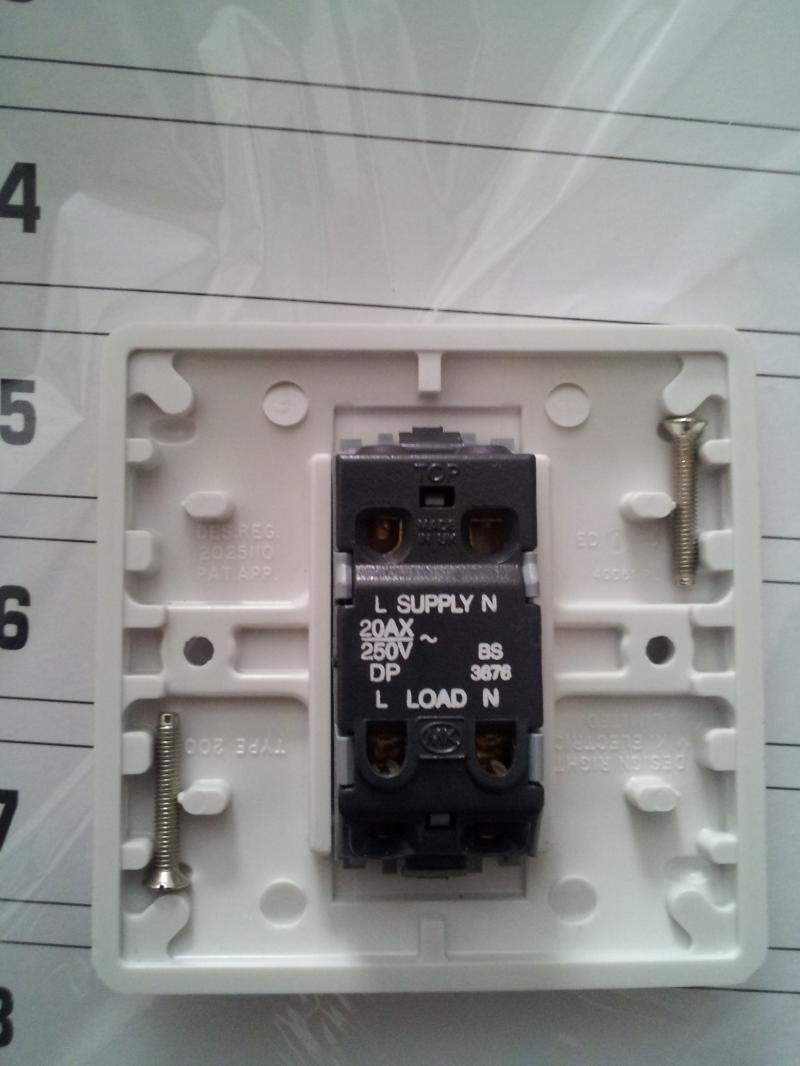 Indicator On A Light Switch To Indicate The Outdoor 3way Light Is On