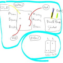 2 Way Switching Wiring Diagram 99 Toyota Camry Gang Light Switch | Diynot Forums