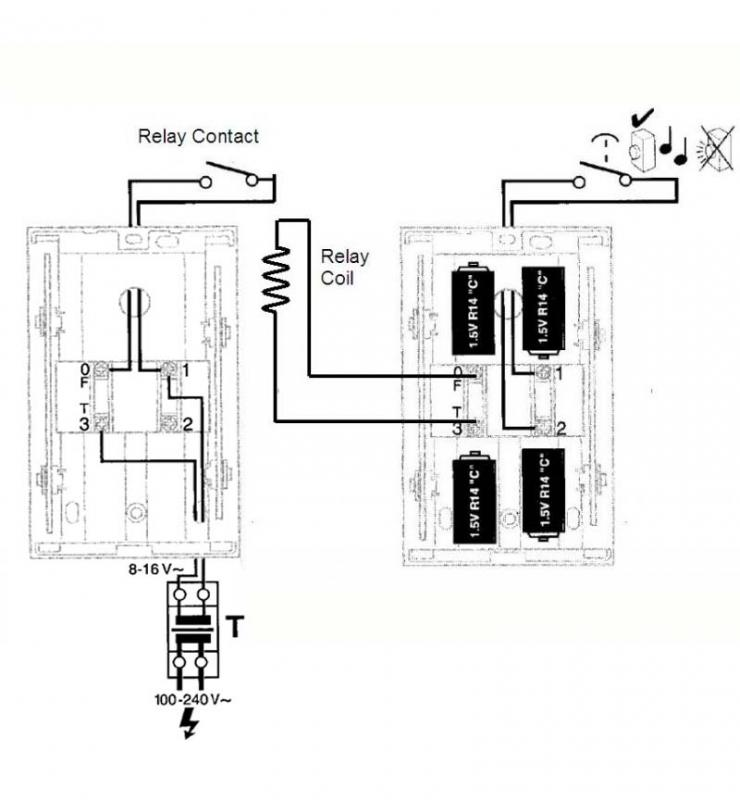 Wiring Diagram For Doorbell Transformer Wiring Multiple