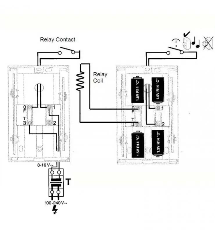 eterna doorbell wiring diagram