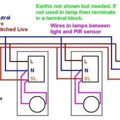Motion Sensor Light Wiring Diagram Uk 2008 Ford F150 Trailer Pir With No Override | Diynot Forums