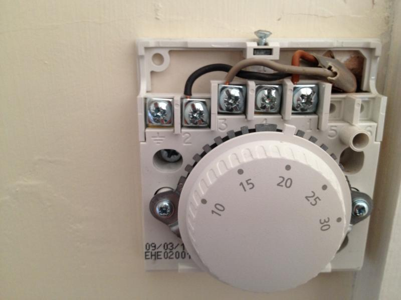 wiring diagram for thermostat honeywell
