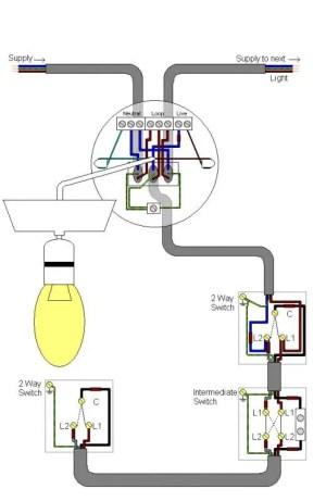 Intermediate light switch problem | DIYnot Forums
