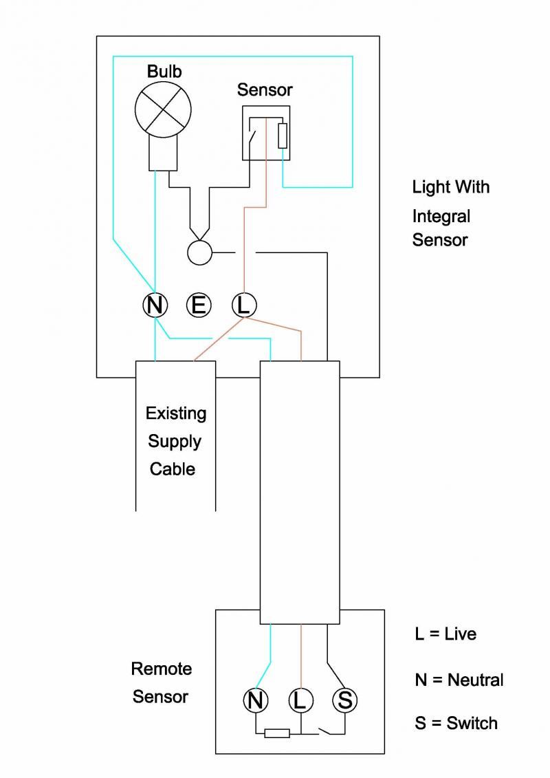 hpm sensor light wiring diagram electron dot worksheet with answers pir electricity site
