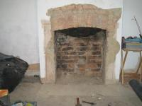 Brick fireplace - squaring the arch | DIYnot Forums