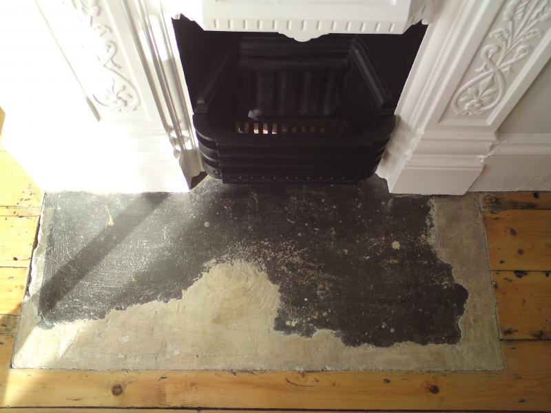Painting a fireplace hearth  DIYnot Forums
